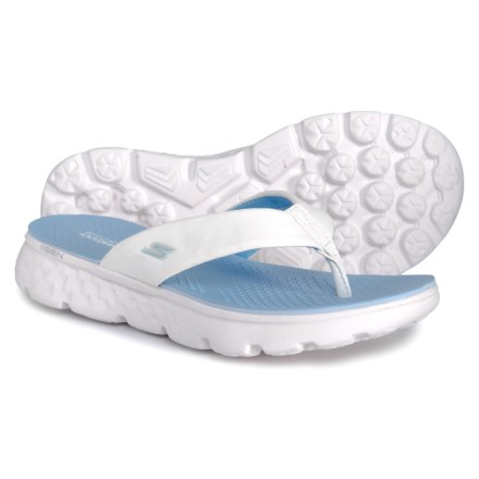 2af427f805bec On the Go Sandals (For Women) in White Light Blue - Closeouts