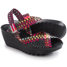 Skechers Parallel Close-Up Sandals (For Women) in Black/Multi - Closeouts