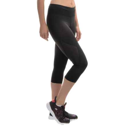 Skechers Play Capris (For Women) in Black - Closeouts
