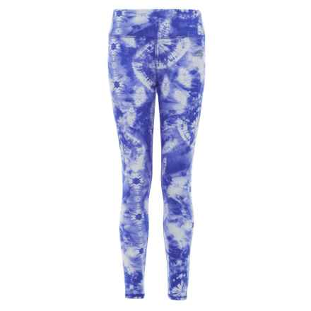 Skechers Printed Leggings (For Girls) in Iceberg Tie Dye Print - Closeouts