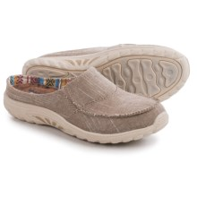 Skechers Reggae Fest Rebel Vibes Shoes - Relaxed Fit, Slip-Ons (For Women) in Dark Natural - Closeouts