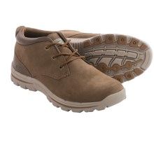 Skechers Relaxed Fit Braver Archon Chukka Boots - Suede (For Men) in Brown - Closeouts