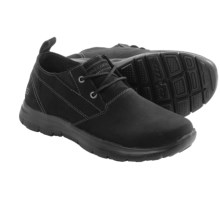Skechers Relaxed Fit Hinton Boley Shoes - Leather (For Men) in Black - Closeouts
