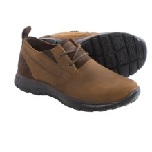Skechers Relaxed Fit Hinton Boley Shoes - Leather (For Men) in Dark Brown - Closeouts