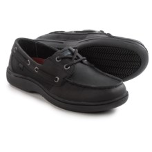 Skechers Relaxed Fit Mondale Work Shoes - Leather (For Women) in Black - Closeouts