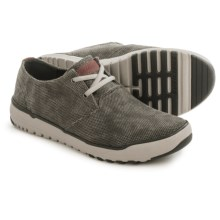 Skechers Relaxed Fit Oldis Stound Shoes (For Men) in Black/Grey - Closeouts