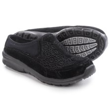 Skechers Relaxed Fit Relaxed Living Patterns Shoes - Slip-Ons (For Women) in Black - Closeouts