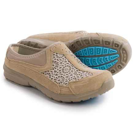 Skechers Relaxed Fit Relaxed Living Patterns Shoes - Slip-Ons (For Women) in Taupe - Closeouts