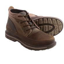 Skechers Relaxed Fit Segment Crandall Boots - Leather  (For Men) in Dark Brown - Closeouts