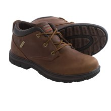 Skechers Relaxed Fit Segment Verzani Chukka Boots - Waterproof, Leather (For Men) in Red/Brown - Closeouts