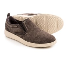 Skechers Relaxed Fit Status Gelding Shoes - Slip-Ons (For Men) in Chocolate - Closeouts