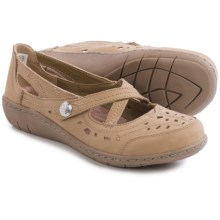 Skechers Relaxed Fit Washington Aberdeen Mary Jane Shoes - Leather (For Women) in Dark Taupe - Closeouts