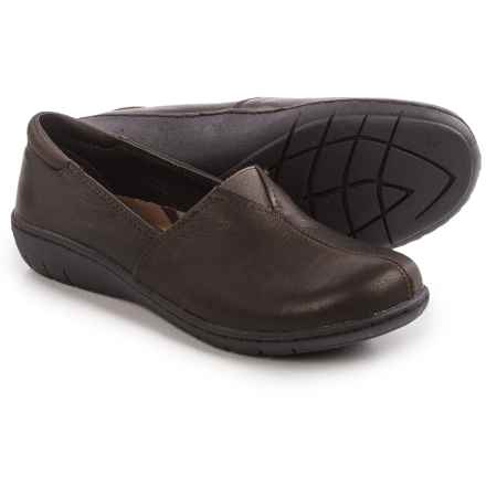 Skechers Relaxed-Fit Washington Seattle Shoes - Leather, Slip-Ons (For Women) in Dark Brown - Closeouts