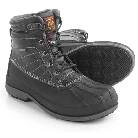Skechers Robards-Alberton SR Work Boots - Waterproof, Insulated (For Women) in Black - Closeouts