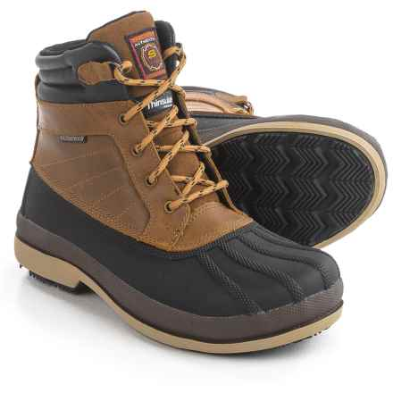 Skechers Robards-Alberton SR Work Boots - Waterproof, Insulated (For Women) in Brown - Closeouts