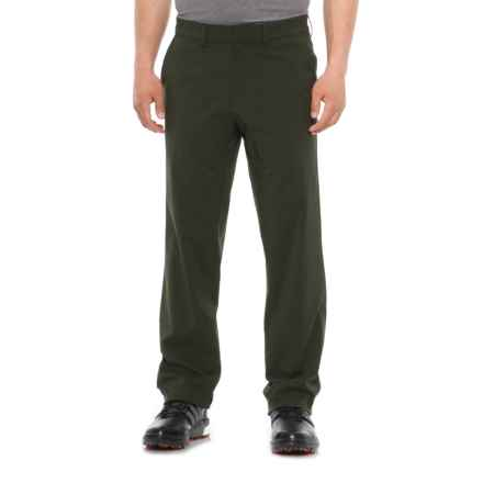 Skechers Rocklin Golf Chino Pants - Flat Front (For Men) in Green - Closeouts