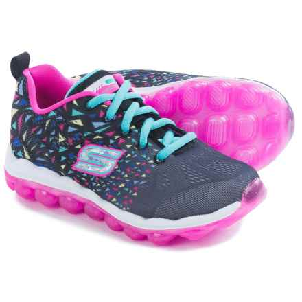 Skechers Skech-Air Blastabounce Sneakers (For Little Girls) in Bkmt Black Multi - Closeouts
