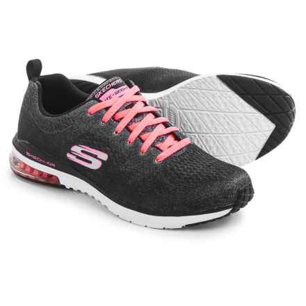 Skechers Skech-Air Infinity-Modern Chic Sneakers (For Women) in Black/White - Closeouts
