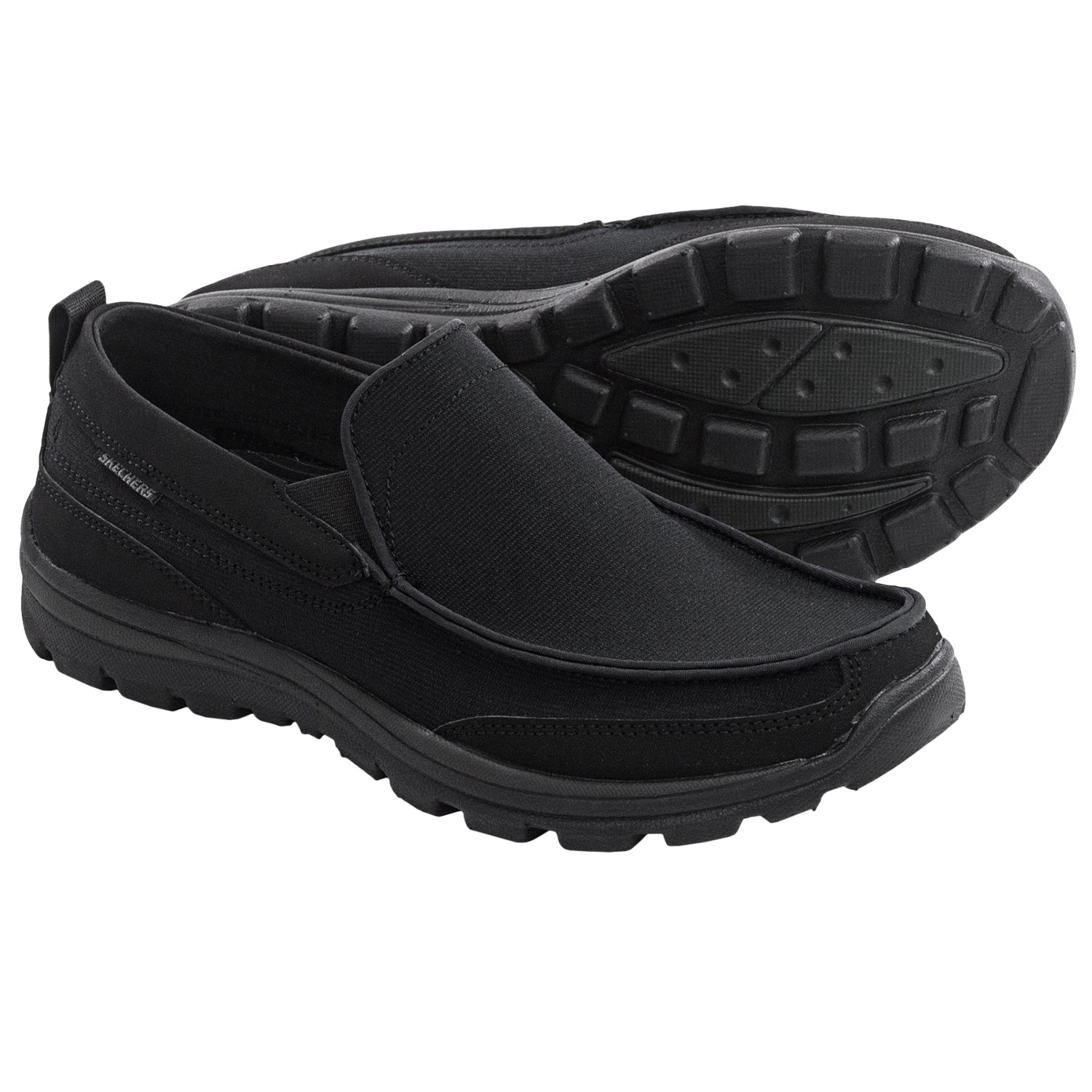 skechers superior faris shoes slip ons relaxed fit for