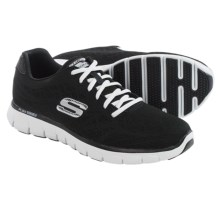 Skechers Synergy Fine Tune Running Shoes (For Men) in Black/White - Closeouts