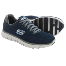 Skechers Synergy Fine Tune Running Shoes (For Men) in Navy/Gray - Closeouts