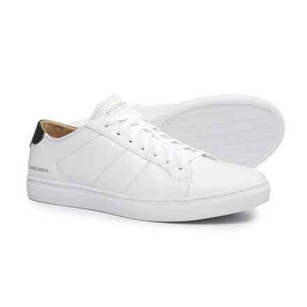 Skechers Venice-Kinane Sneakers (For Men) in White/Black - Closeouts