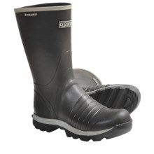"Skellerup Quatro Rubber Boots - 13"" (For Men) in Black - Closeouts"