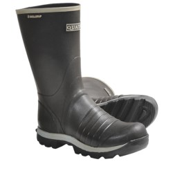 "Skellerup Quatro Rubber Boots - 13"" (For Men) in Black"