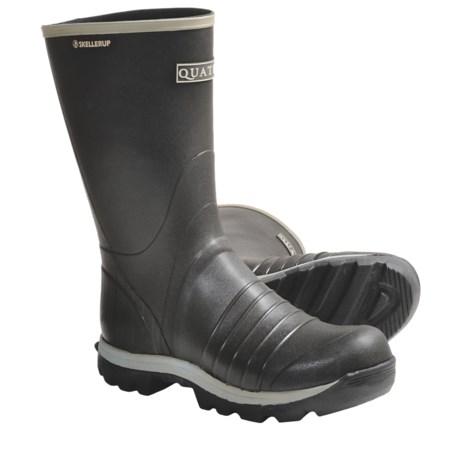 "Skellerup Quatro Rubber Boots - 13"" (For Men) in Black"