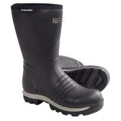 "Skellerup Quatro Rubber Boots - 13"", Insulated (For Men) in Black"