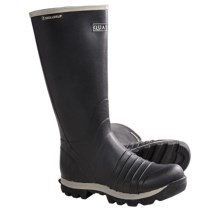 "Skellerup Quatro Rubber Boots - 16"" (For Men) in Black - Closeouts"