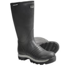 "Skellerup Quatro Rubber Boots - 16"", Insulated (For Men) in Black - Closeouts"