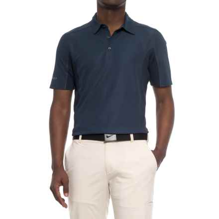 Sketchers GOgolf Sherwood Polo Shirt - Short Sleeve (For Men) in Navy - Closeouts