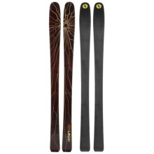 Ski Logik Rave Rocker Logik Alpine Skis in Dark Brown - Closeouts