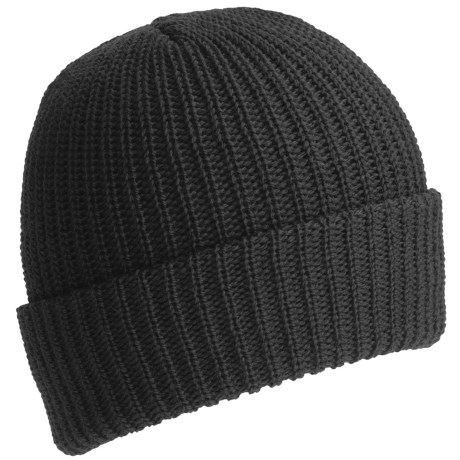 Ski Tops Watch Stocking Cap - 100% Wool (For Men) in Black
