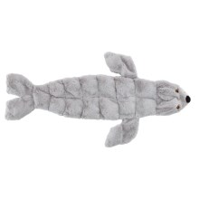 Skinneeez Tons O' Squeakers Dog Toy in Seal - Closeouts