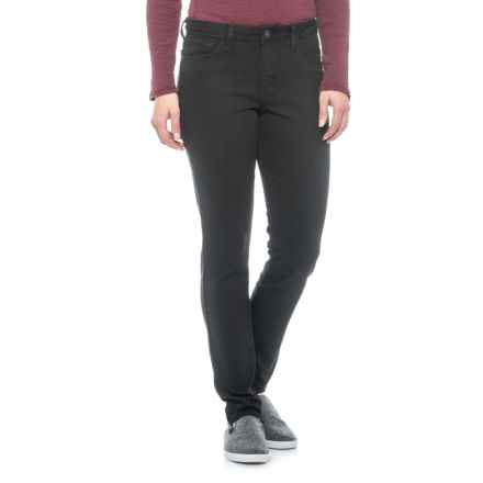 Skinny Denim Jeans (For Women) in Black - 2nds