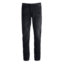 Skinny Jeans - Cotton Denim (For Men) in Neuro Black Wash - Closeouts