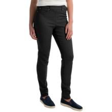 Skinny Leg Pull-On Pants (For Women) in Black - 2nds