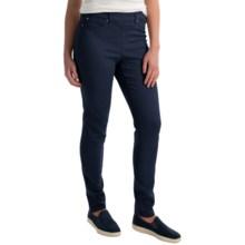 Skinny Leg Pull-On Pants (For Women) in Dark Denim - 2nds