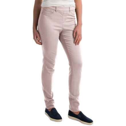 Skinny Leg Pull-On Pants (For Women) in Stone - 2nds