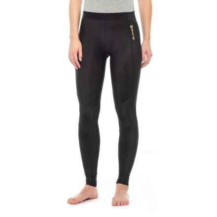 Skins A400 Compression Tights - UPF 50+ (For Women) in Black - Closeouts