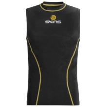 Skins Bio Sport Base Layer Top - Midweight, Sleeveless (For Men) in Black - Closeouts