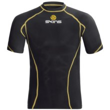 Skins Bio Sport Base Layer Top - UPF 50+, Crew Neck, Short Sleeve (For Men) in Black - Closeouts