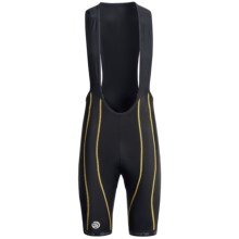 Skins Cycle Pro Compression Bib Shorts (For Men) in Black - Closeouts