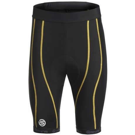 Skins Cycle Pro Compression Knickers (For Men) in Black/Grey