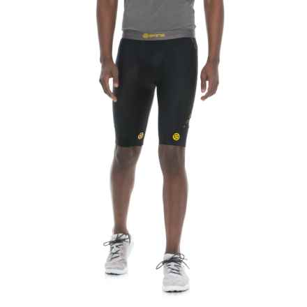 Skins DNAmic Compression Shorts (For Men) in Black - Closeouts