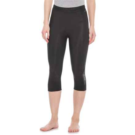 Skins DNAmic Thermal 3/4 Tights (For Women) in Black/Charcoal