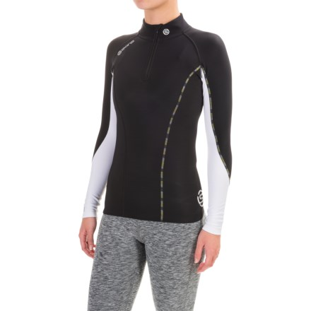 b7c0fd4448e9 Skins DNAmic Thermal Base Layer Top - UPF 50+, Zip Neck, Long Sleeve