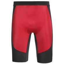 Skins Tri400 Compression Triathlon Shorts - UPF 50+ (For Men) in Red/Black - Closeouts